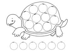 Графомоторика: проведи дорожки. Черепаха
