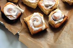 My first and favorite cinnamon roll recipe from Molly Wizenberg