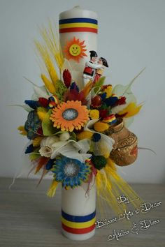 Candle Centerpieces, Candles, Diys, Projects To Try, Baby Shower, Traditional, Table Decorations, Handmade, Wedding