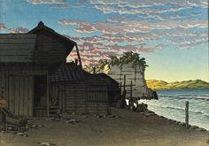 Higashi, Hirakata Alternate Title: 平潟東町 Kawase Hasui (Japan, 1883-1957) Japan, 1945