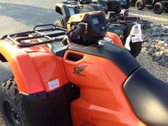New 2016 Honda FOURTRAX FOREMAN RUBICON ATVs For Sale in North Carolina. Priced to sell......WAS $7349 + tax, D/C, REDUCED TO $6111 + tax, D/C. Want to ride this season? Now is the time to buy! The '16's must go to make room for the 2017 models.E-Z finance options available. (finance charge may apply) Stop in today or fill out your finance application online at . LOWEST PRICES OF THE YEAR!!!Don't wait too long!