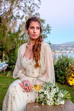 Styled shoot στο Island με ιδεες διακοσμησης καλοκαιρινου γαμου | Αννα Σουρμπατη  See more on Love4Weddings  http://www.love4weddings.gr/art-de-la-table-summer-wedding/  Photography by PENELOPE PHOTOGRAPHY   http://penelope-photos.gr/blog/