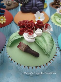 Alice in Wonderland Collection by Darcy's Cupcake Creations, via Flickr