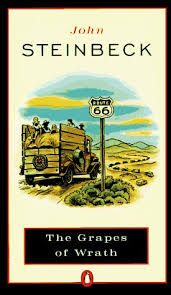 The Grapes of Wrath by John Steinbeck loved this book in grade Used Books, Great Books, Books To Read, My Books, Classic Literature, Classic Books, American Literature, Dh Lawrence, Better Books