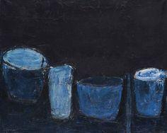 William Scott, Blue Still Life.