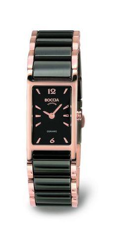 Boccia Damen-Armbanduhr Analog Quarz Keramik 3201-04
