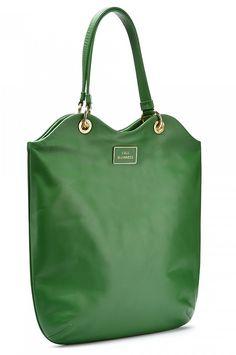 Lulu Guinness emerald tote
