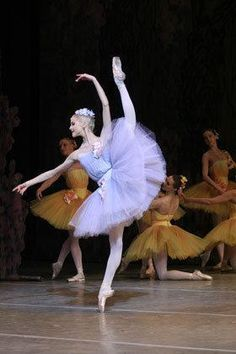 Alina Somova from the dream scene in Don Q :) Love that ballet!