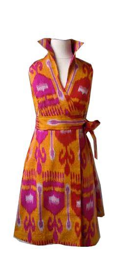 Stockton Dress in Fleur De Lis