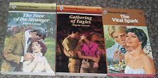 LOT OF 3 ANGELA CARSON NEW HARLEQUIN VINTAGE ROMANCE BOOKS 1980's #29