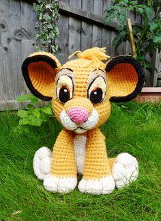 Crochet Simba Plush The Lion King Inspired by TheCrochetBoxUK