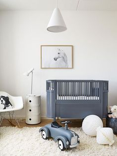 Baby room design boy - Kids' Rooms Featuring Unicorn and Horses – Baby room design boy Baby Bedroom, Baby Boy Rooms, Baby Room Decor, Nursery Room, Kids Bedroom, Kids Rooms, Horse Nursery, Chic Nursery, Room Kids