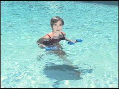 Aqua Exercises Using Aqua Dumbbells www.mirabaiholland.com - http://adjustabledumbbellstoday.com/aqua-exercises-using-aqua-dumbbells-www-mirabaiholland-com/