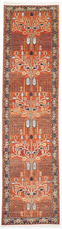 Hand-Knotted Pakistan Runner - x Hand Knotted Rugs, Woven Rug, Red Runner Rug, Interior Rugs, Interior Design, Affordable Rugs, Eclectic Rugs, Weaving Art, Red Rugs