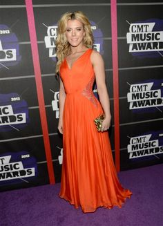Kimberly Perry of the Band Perry attends the 2013 CMT Music Awards at the Bridgestone Arena in Nashville on June 5, 2013.