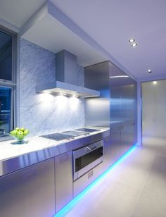 Blue Modern Kitchen 3