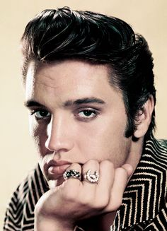 Elvis photographed by Frank Powolny, 1956.