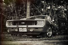 wildvoyager:  69 Camaro SS (736×490)
