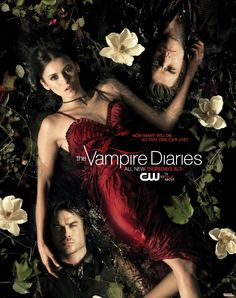 "The Vampire Diaries Cast: Ian Somerhalder ""Damon Salvatore,"" Nina Dobrev ""Elena Gilbert,"" Paul Wesley ""Stefan Salvatore"" Vampire Diaries Season 2, Serie Vampire Diaries, Vampire Diaries Poster, Vampire Diaries The Originals, Damon Salvatore, Bonnie Bennett, Elena Gilbert, Paul Wesley, Ian Somerhalder"