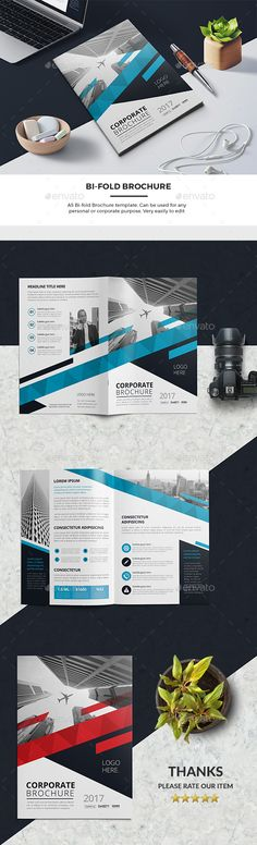Bi-Fold Brochure - Corporate Brochures Download here : https://graphicriver.net/item/bifold-brochure/19487639?s_rank=3&ref=Al-fatih