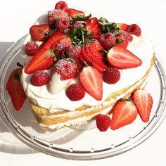 #leivojakoristele #mitäikinäleivotkin #täytekakku Kiitos Sara