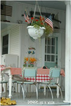 Fabulous Farmhouse Tour: On the Back Porch