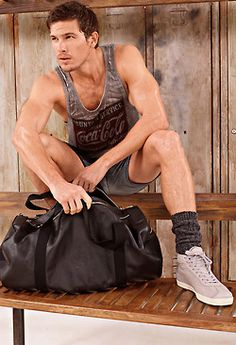 Adam Senn for D & G- coke and a sporty look