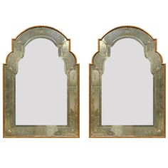 Versailles Venetian Style Mirror with Gilded Wood Frame