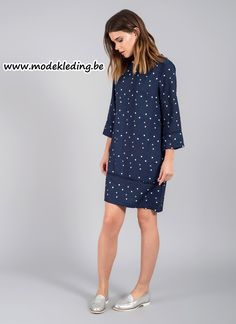 http://www.modekleding.be/Tramontana-jurk-DA-16-215-Tessie-Tunic-navy
