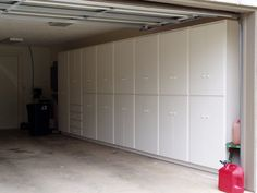 Custom Built-in Cabinetry, Storage Cabinets, Garage Cabinetry