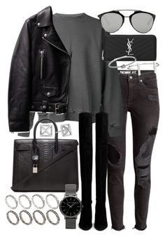 """""""Untitled #19557"""" by florencia95 ❤ liked on Polyvore featuring Haider Ackermann, Christian Dior, Yves Saint Laurent, Stuart Weitzman, Michael Kors, ASOS, French Connection, Rebecca Minkoff, women's clothing and women"""