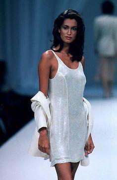 Yasmeen Ghauri: Les Copains - spring '97