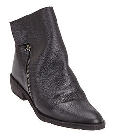 This Black Southside Leather Bootie by Matisse is perfect! #zulilyfinds