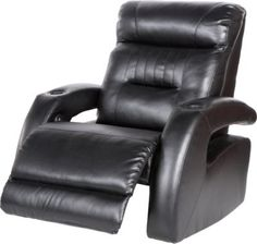 Shop for a Symon Circle Black Blended Leather Power Recliner at Rooms To Go. Find  sc 1 st  Pinterest & Shop for a Symon Circle 5 Pc Red Blended Leather Reclining ... islam-shia.org