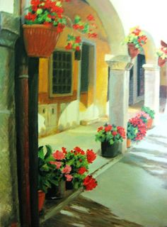 Tuscany  oil cm. 18x24