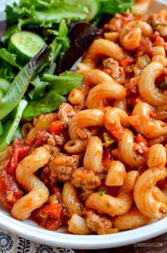 Low Syn Sausage and Tomato Pasta - a true family pleasing recipe with yummy sausages, peppers and the delicious natural sweetness of tomatoes.   dairy free, Slimming World and Weight Watchers friendly