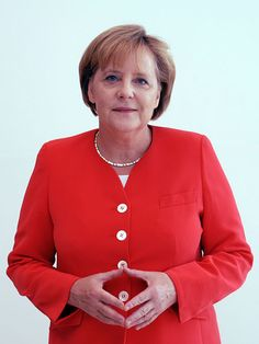 Angela Merkel, German chancellor.  If Germany can do it, why can't we?  http://www.neilfindlay.com