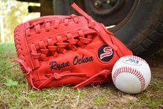 Custom baseball and softball gloves Softball Gloves, Baseball, Summer, Summer Time