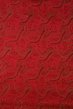 Our high-end Red Silk Brocade 419 Fabric is machine-woven with silk threads in intricate designs and patterns. Buy fabric by the Yard at NY Designer Fabrics. Silk Brocade, Red Silk, Buy Fabric, Silk Fabric, Home Decor Fabric, Silk Thread, Fabric Design, Concerning Hobbits, Pattern