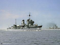 IJN Destroyer Uranami 日本海軍吹雪型駆逐艦 浦波
