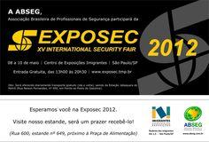 GNA CONSULTORIA ESTARÁ NA EXPOSEC 2012