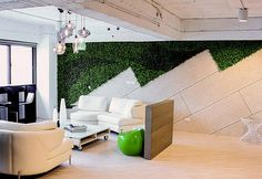 Green Walls in Office Design: What are the Benefits