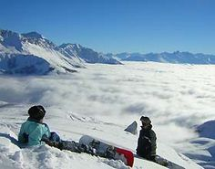 Snowboarding in the clouds, best feeling ever