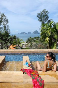 Pool views in Krabi