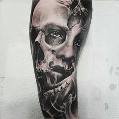 """11.3k Likes, 31 Comments - Tattoo Realistic (@tattoorealistic) on Instagram: """"Sick morphing by @chris_showstoppr from Australia."""""""