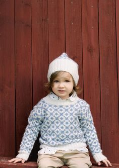 Trulte sweater Girls Sweaters, Baby Sweaters, Cardigans, Knitting For Kids, Baby Knitting, Diy Knitting Projects, Sweater Scarf, Christening Gowns, Ikon