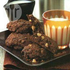 Cookies de chocolate e macadâmia @ allrecipes.com.br