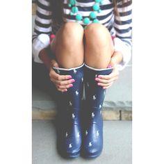 Ralph rain boots.