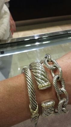 David Yurman! Stack!!  definately , love to stack ....