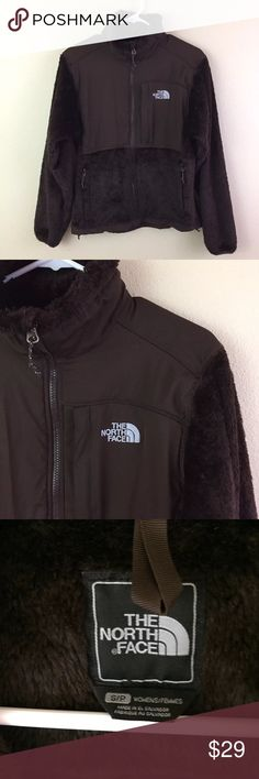 The North Face Denali Jacket Brown Fuzzy jacket, size small. The North Face Jackets & Coats